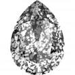 Cristales de Swarovski 4320 Crystal (001) Black Patina (BLAPA)
