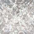 Cristales de Swarovski 4418 Crystal (001) Silver Patina (SILPA)