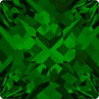 Cristales de Swarovski 4418 Dark Moss Green (260)