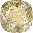 Cristales de Swarovski 4470 Crystal (001) Gold Patina (GOLPA)