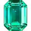 Cristales de Swarovski 4610 Emerald (205)