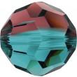 Cristales de Swarovski 5000 Burgundy Blue Zircon Blend (723)