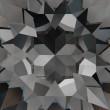 Cristales de Swarovski 5590 Crystal (001) Silver Night (SINI)