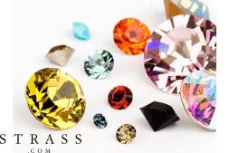 Chatons di Cristalli a Swarovski (Color Multi Size Mix) 972 Pezzi