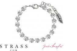 "Bracelet ""Verdosa"" con Cristalli originali di Swarovski (Crystal)"