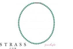 """Collo """"perla collana Mini"""" Jade Pearl, con Cristalli originali di Swarovski"""