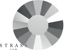 Cristalli a Swarovski 2034 SS 10 CRYSTAL LTCHROME F (5180602)