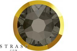 Cristalli a Swarovski 2088/I SS 16 BLACK DIAMOND DORADOZ F (5347922)