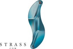 Cristalli a Swarovski 2788 MM 10,0 DENIM BLUE F (1156561)