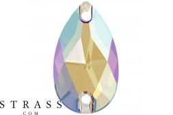 Cristalli a Swarovski 3230 MM 28,0X 17,0 BLACK DIAMOND SHIMMER F (5395285)