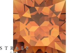 Cristalli a Swarovski 4320 MM 6,0X 4,0 CRYSTAL COPPER F (854356)