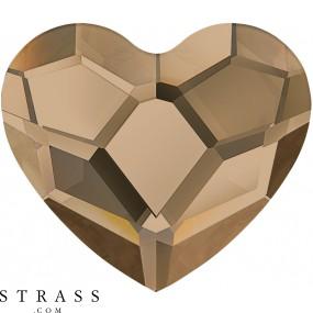 Cristalli a Swarovski 2808 Crystal (001) Rose Gold (ROGL)