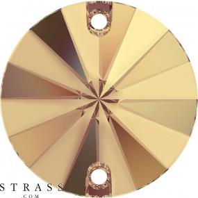 Cristalli a Swarovski 3200/G Crystal (001) Golden Shadow (GSHA)