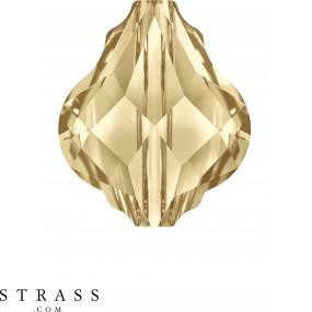 Cristalli a Swarovski 5058 Crystal (001) Golden Shadow (GSHA)