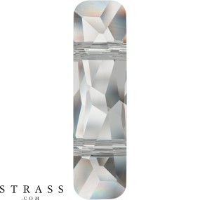 Cristalli a Swarovski 5535 Crystal (001) Rose Gold Both Sides (ROGL2X)