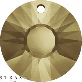 Cristalli a Swarovski 6724 Crystal (001) Golden Shadow (GSHA)