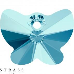 Cristalli a Swarovski 6754 Aquamarine (202)