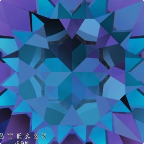 Cristalli a Swarovski 2493 Crystal (001) Heliotrope (HEL)