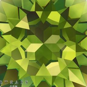 Cristalli a Swarovski 6090 MM 22,0X 15,0 OLIVINE (879736)