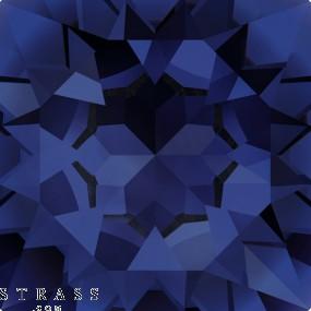 Cristalli a Swarovski 4320 Dark Indigo (288)