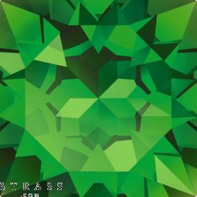 Cristalli a Swarovski 2520 MM 14,0X 10,0 FERN GREEN F (5007261)