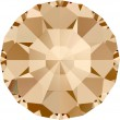 Cristalli a Swarovski 1100 Crystal (001) Golden Shadow (GSHA)
