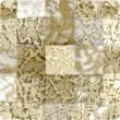 Cristalli a Swarovski 2493 Crystal (001) Gold Patina (GOLPA)
