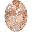 Cristalli a Swarovski 4127 Crystal (001) Rose Patina (ROSPA)