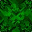 Cristalli a Swarovski 4418 Dark Moss Green (260)
