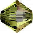 Cristalli a Swarovski 5328 Olivine (228) Aurore Boréale (AB)