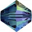 Cristalli a Swarovski 5328 Indicolite (379) Aurore Boréale (AB)